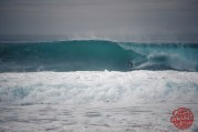 Photographe : Olivier Marci - Surfeur : Nelson Cloarec