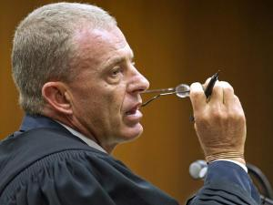 Gerrie Nel. Absurdly aggressive