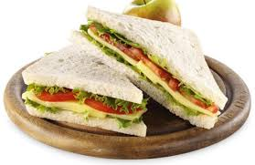 Cheese salad sandwich: 2 fillings