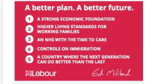 Labour PLedge Card March