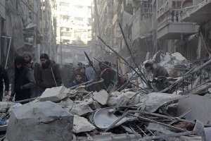 Aleppo may be reduced to rubble: photo ICRC