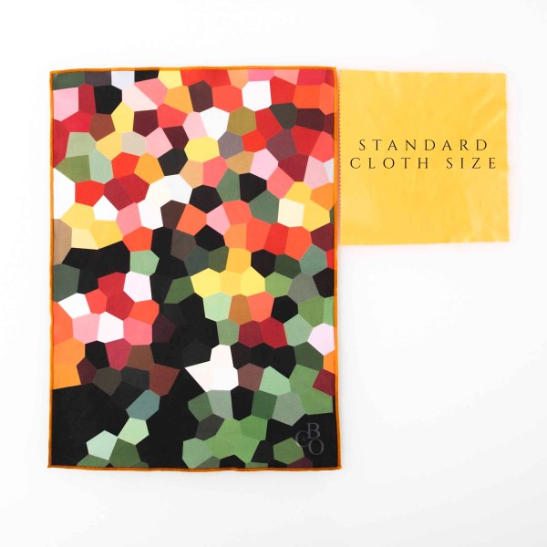 'Blossom of Colour' – Large Limited—Edition Microfibre Lens Cleaning Cloth