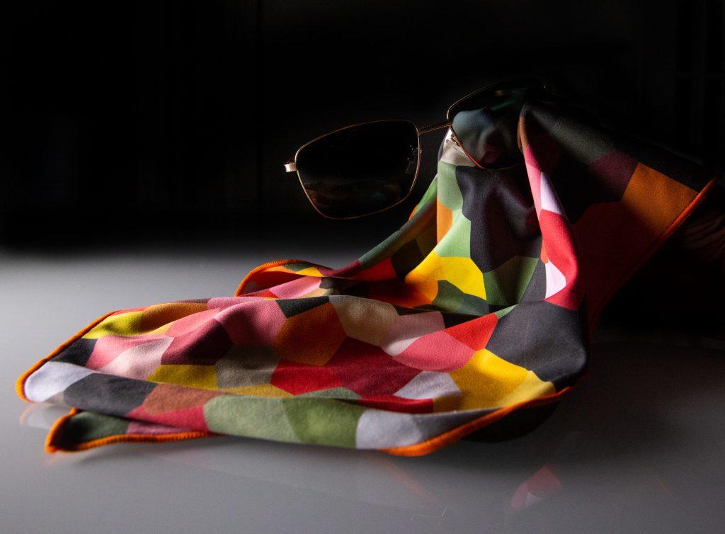 microfibre glasses cloth