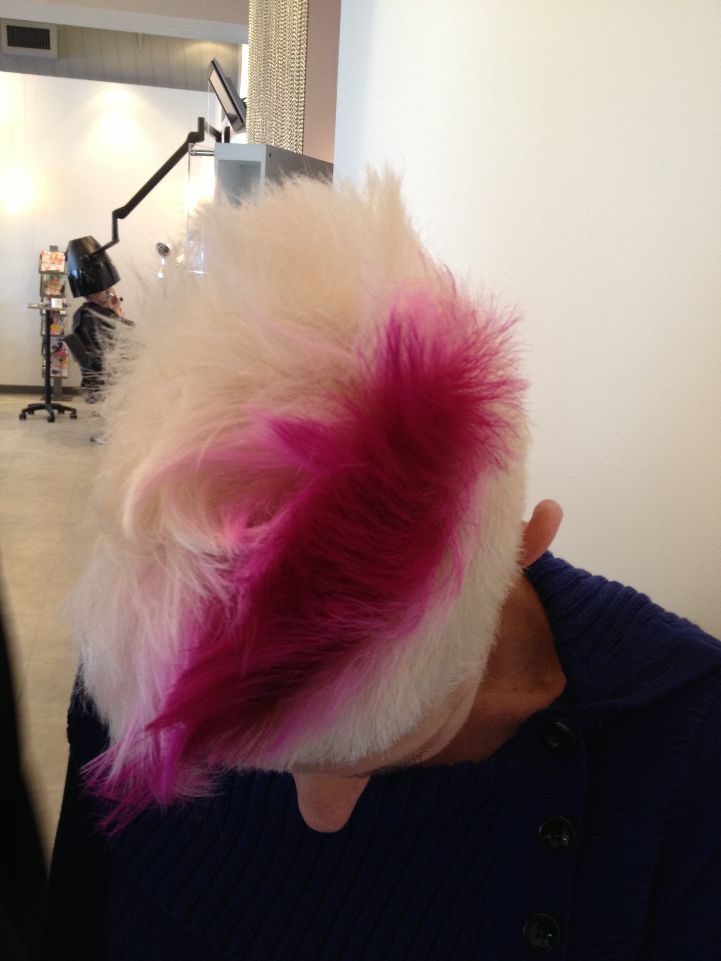 A Pop Of Pink Hair For Spring By David Barron Atlantas