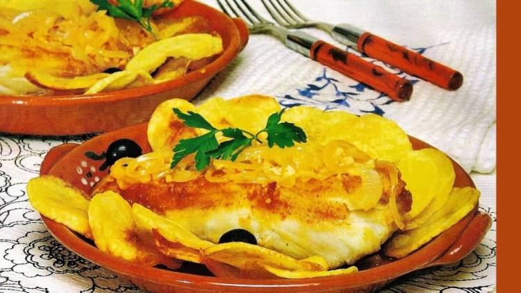 receita de bacalhau a moda de Braga - Portugal