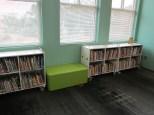 Nonfiction shelves