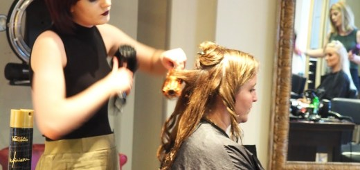 Blow dry at Hairsalon Event Norwich
