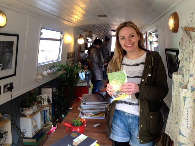 The inspirational Sarah Henshaw - author of 'The Book Shop That Floated Away'