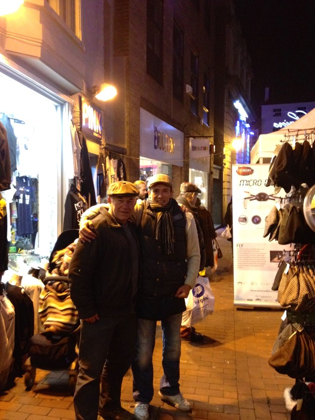 Stall holders in The Laines, Brighton