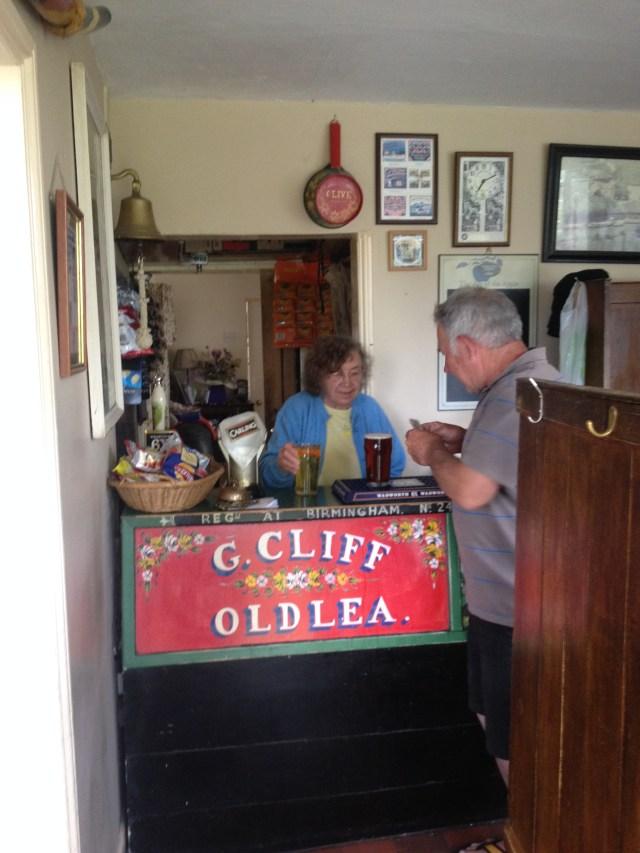 The Anchor Inn, High Offley, landlady Olive