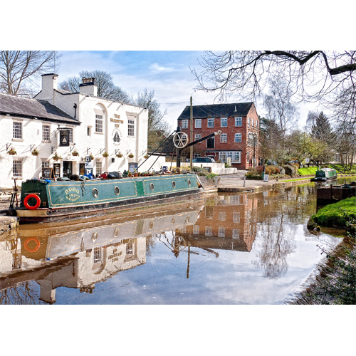 Shropshire Union Canal - The Shroppie Fly pub