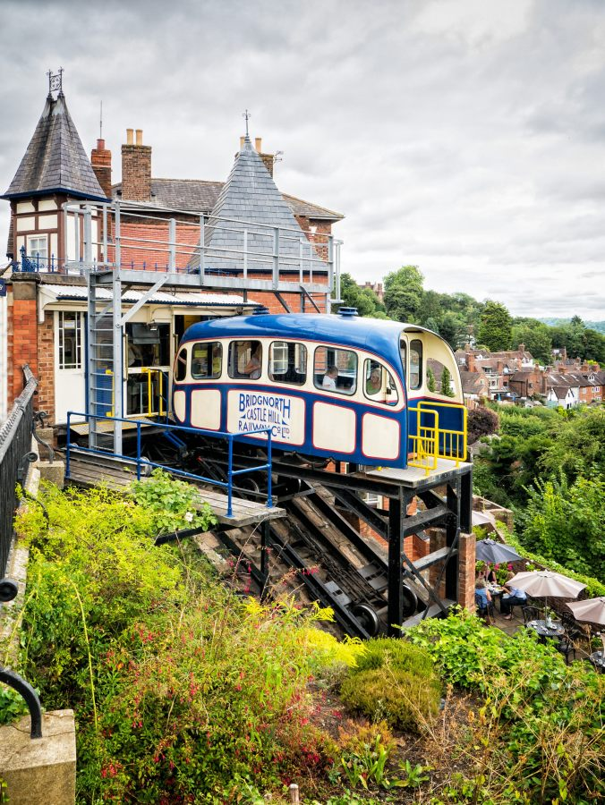 Bridgnorth cable car