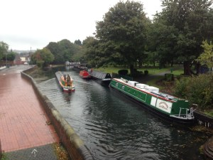 The Home Brew Boat at Tipton Community and Canal Festival 2018
