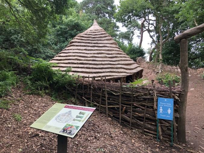Beeston Castle Bronze Age Round House