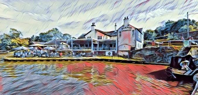 Foxton Locks Inn August 2020