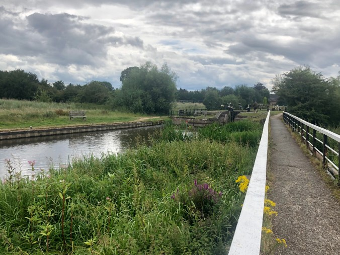 River Trent at Alrewas August 2020