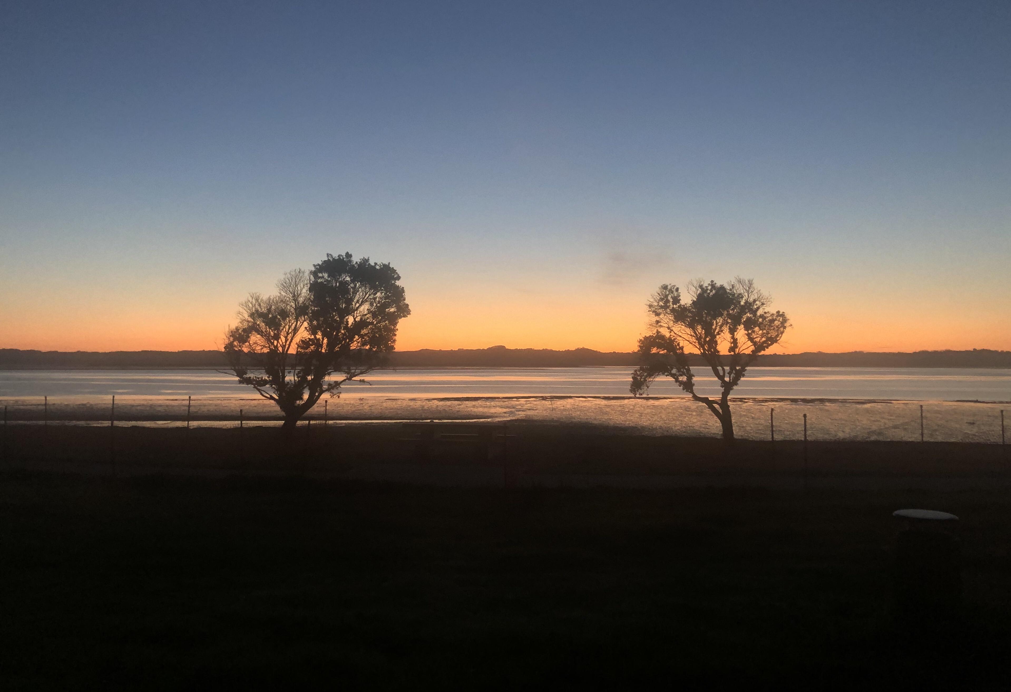 Sunrise around 6.34 am