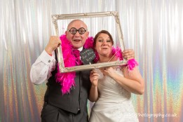 Somerset Wedding Photography with photo booth at Walton Park Hotel Clevedon