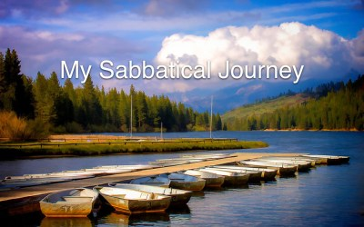 Sabbatical Part 1: Hitting the Refresh Button