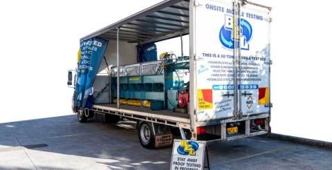 Mobile Testing Truck