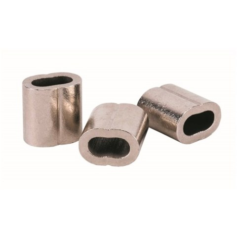 BELW Wire Rope Ferrules-Nickle Plated Copper THUMB