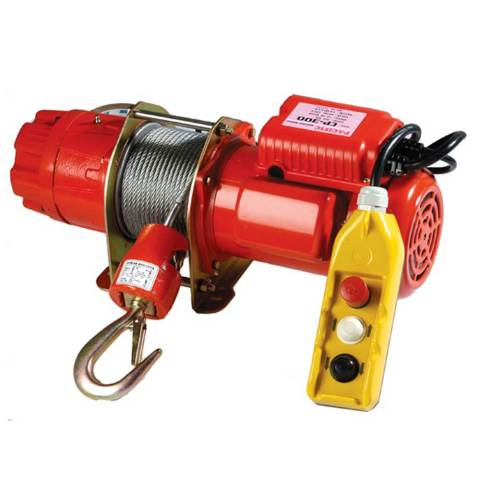 comeup CP200_250_300 range electric winch