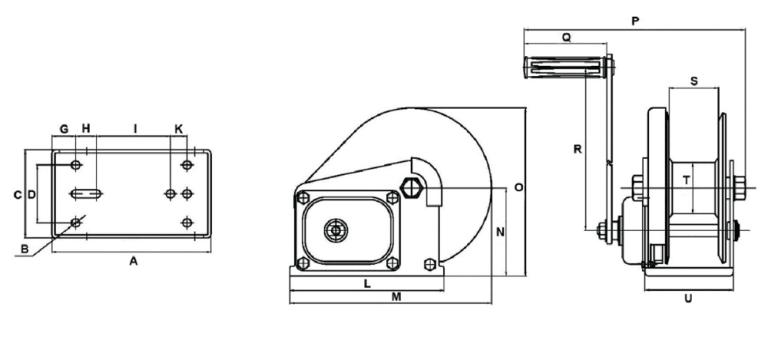 BHW 1800 Spec Drawing