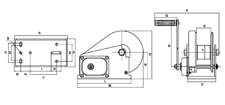BHW2600 Spec Drawing