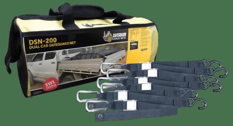 DSN-200 Dual Cab Net Storage Bag & Straps