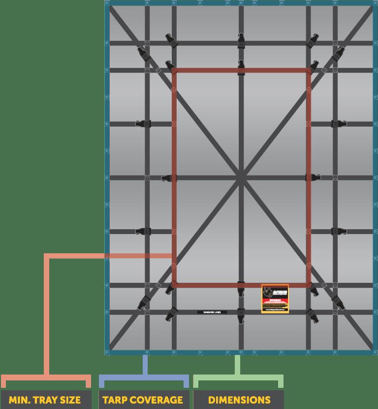 SUT-600 Universal Tarp_Diagram