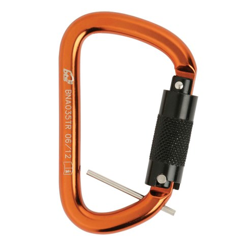 BNA035TR Triple Action Karabiner with Retaining Pin