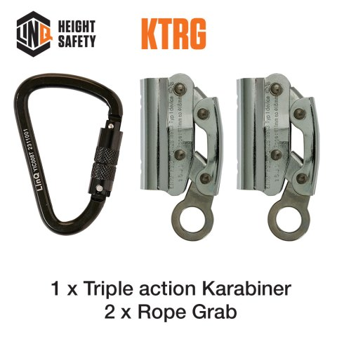 Double Adjustable Rope Lanyard Hardware KTRG