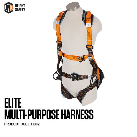 H302 Elite Multi-Purpose Harness - Standard on Dummy SIDE