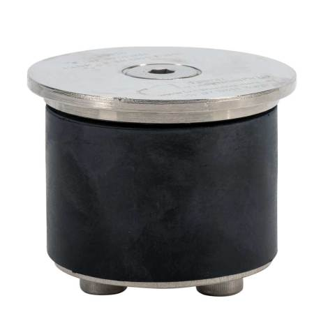 Davit Base Cap a cap to prevent build up of water and debris Stainless Steel