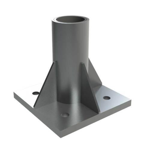 Heavy Duty Floor Mount Stainless Steel