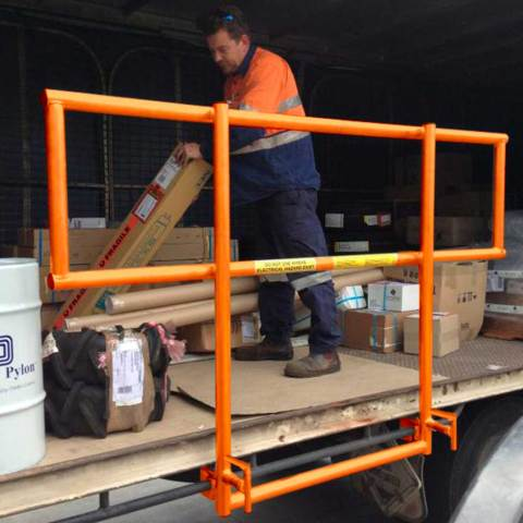 The Flat Bed Trailer Mini Edge Protection System (TMEPS) Hero