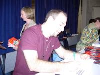 Signing at BEA