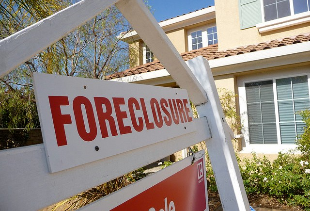 mortgage default foreclosure
