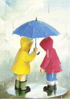 Rainy Day Friends by Barry Trower.
