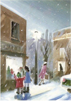 Christmas Shop by Barry Trower.