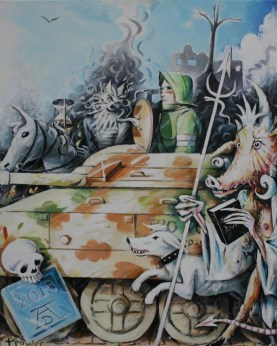 Death, Knight and the Devil by Barry Trower (2015).