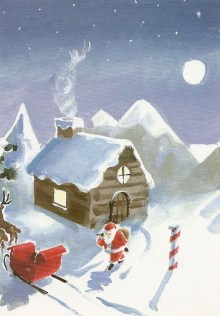 At the North Pole by Barry Trower.