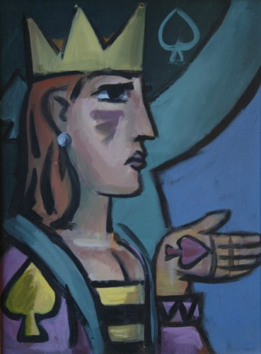 Queen of Spades by Barry Trower (1988).