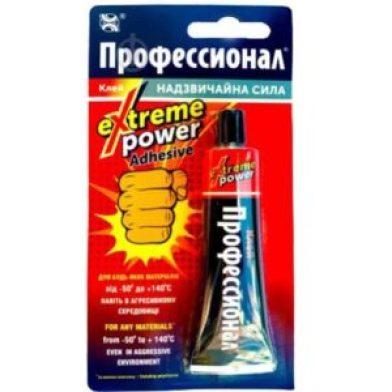 Klej Professional Extreme Power Adhesive 35ml tubka + GRATIS!