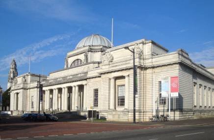 The National Museum of Wales is just 5 mins away from the conference venue