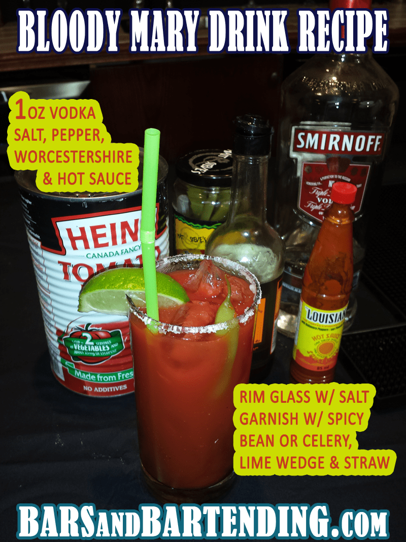 bloody mary drink recipe tutorial the bloody mary drink whose exact
