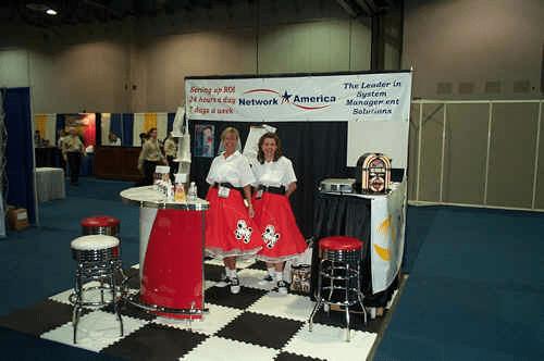 Network America 50's Trade Show Bar