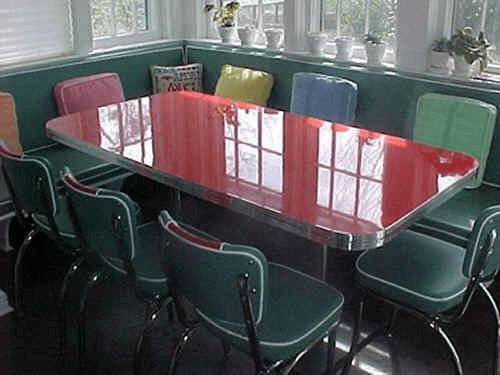 Trebachs Custom Booth Table