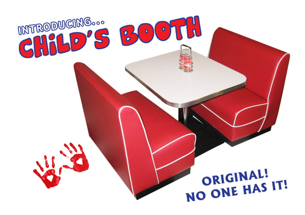 Childrens Diner Booth Play House Family Room Kitchen