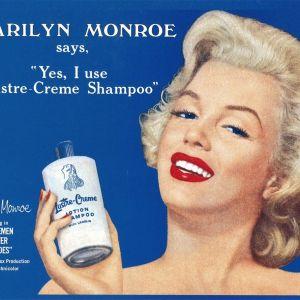 Monroe Luster-Creme Tin Sign